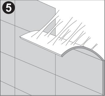Укладка настенных пробковых покрытий